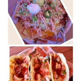 Grab some  nachos and some shrimp tacos🌮  @hootersofhawaii and enjoy todays game – from Instagram