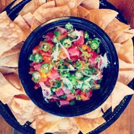Grab a bag of Sinaloa chips from your local @safeway deli and any Poke of your choice and enjoy tonight's football game ! 😎😎 – from Instagram