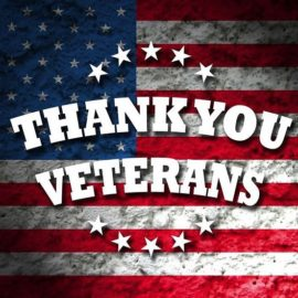 Thank you Veterans, for serving our country & protecting our freedoms ! – from Instagram